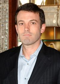 Ben Affleck at the Cartier holiday celebration to benefit The Art of Elysium.