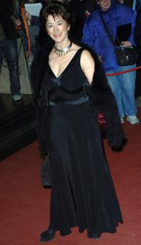 Maureen Lipman at the Lawrence Olivier Theatre Awards.