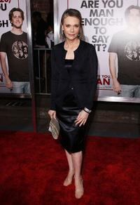 Peggy Lipton at the premiere of