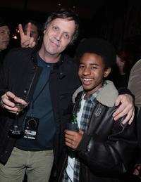 Director Todd Haynes and Marcus Carl Franklin at the after party of