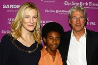 Cate Blanchett, Marcus Carl Franklin and Richard Gere at the New York Film Festival screening of