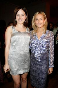 Sophia Bush and Tory Burch at the Tory Burch Fall 2008 fashion presentation during the Mercedes-Benz Fashion Week Fall 2008.