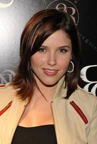 Sophia Bush at the Rock and Republic's after party.