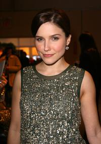 Sophia Bush at the fashion tents during the Mercedes-Benz Fashion Week Fall 2008.