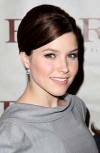Sophia Bush at the Ports 1961 2008 fashion show during the Mercedes-Benz Fashion Week Fall 2008.