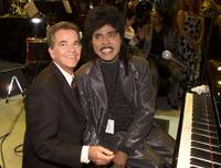Dick Clark and Little Richard at the taping of