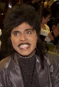 Little Richard at the taping of