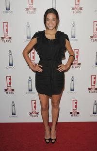 Jana Kramer at the E! Television's 20th Birthday Celebration.