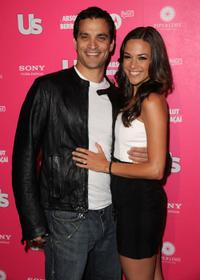 Johnathon Schaech and Jana Kramer at the Us Weekly Hot Hollywood Style Issue celebration.