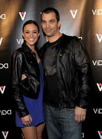 Jana Kramer and Johnathon Schaech at the launch of Vida hosted by Sofia Vergara.