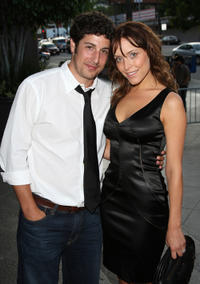 Jason Biggs and Jenny Mollen at the opening night of 5th Annual HollyShorts 2009 in California.