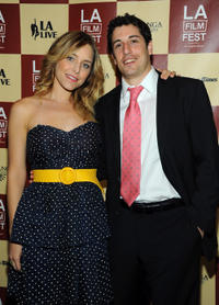Jenny Mollen and Jason Biggs at the premiere of