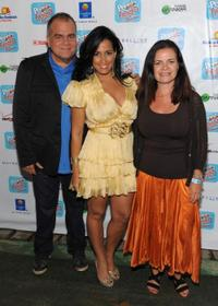 Armando Correa, Celines Toribio and Lucia Ballas-Traynor at the Hispanic Heritage Month with Fiesta 2009 People En Espanol Celebration.