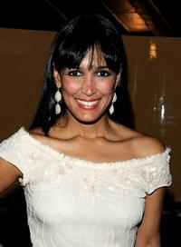 Celines Toribio at the premiere of