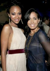 Zoe Saldana and Celines Toribio at the People En Espanol's