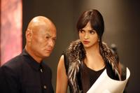Gordon Liu as Hojo and Deepika Padukone as Meow Meow in