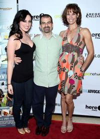 Najarra Townsend, Stewart Wade and Alexandra Paul at the premiere of