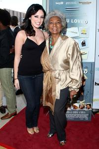 Najarra Townsend and Nichelle Nichols at the premiere of