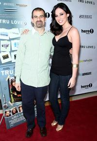 Stewart Wade and Najarra Townsend at the premiere of