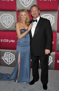 Blake Lively and Ernie Lively at the 66th Annual Golden Globe Awards.