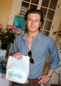 Noah Segan at the 2008 DPA Garden Party gift suite.