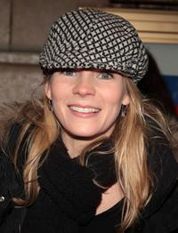 Kelli O'Hara at the Broadway opening night of