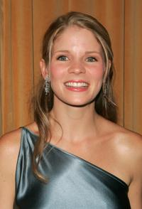 Kelli O'Hara at the after party of the opening night of