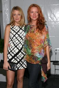 Blake Lively and Lori Lively at the Michael Kors Spring 2009 fashion show during the Mercedes-Benz Fashion Week.