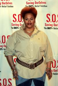 Jill Scott at the
