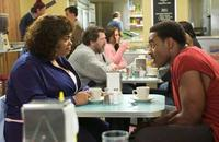 Shelia (Jill Scott) and Troy (Lamman Rucker) in
