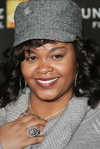 Singer Jill Scott at the premiere of