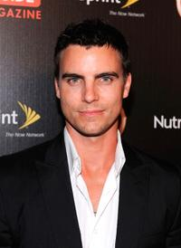 Colin Egglesfield at the TV Guide Magazine's Hot List party.