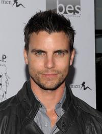 Colin Egglesfield at the Lisa Kline Boutique Launch party.