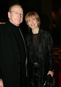 Tony Barry and his wife Caroline Jones at the Opening Night world premiere of