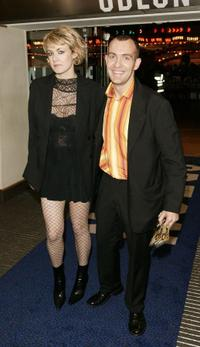 Emily Lloyd and Guest at the UK premiere of