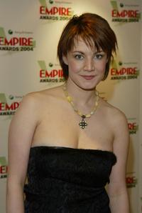 Emily Lloyd at the Sony Ericsson Empire Film Awards.