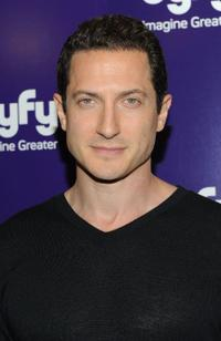 Sasha Roiz at the 2010 Syfy Upfront party.