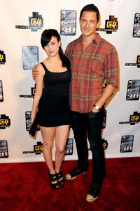 Alessandra Torresani and Sasha Roiz at the