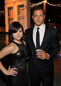 Alessandra Torresani and Sasha Roiz at the EW and SyFy party during Comic-Con 2010.