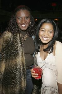 Judge Mablean Ephriam and Keke Palmer at the after party of the premiere of