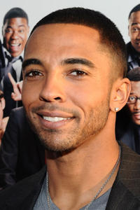 Christian Keyes at the 'Death At A Funeral' premiere in Los Angeles.