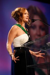 Drew Barrymore at the Juno the Chairman's Vanguard Award.