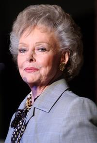 June Lockhart at the Eggs Roll Into New York.