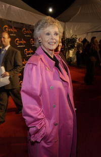 June Lockhart at the opening night of