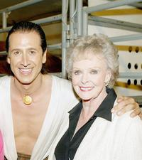 Frederic Pignon and June Lockhart at the opening night of