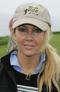 Heather Locklear at the 8th Annual Michael Douglas & Friends Golf Tournament.