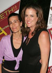 Jeanine Tesori and Mara Manus at the after party of the premiere of
