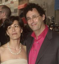 Jeanine Tesori and Tony Kushner at the opening of