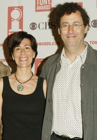 Jeanine Tesori and Tony Kushner at the 2004 Tony Awards Nominees Press Reception.