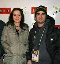 Kathryn Aselton and Jay Duplass at the Cinetic Media party during the 2005 Sundance Film Festival.